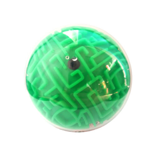 Шар-лабиринт Wanbosi Зелёный 10 см