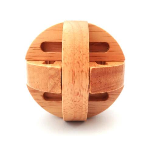 Деревянная головоломка Шар из дисков