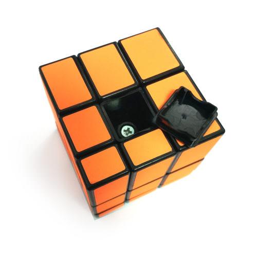 Зеркальный кубик Рубика 3x3 Z-Cube Оранжевый